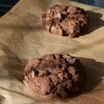 GLUTEN FREE DOUBLE CHOCOLATE CHIP COOKIES
