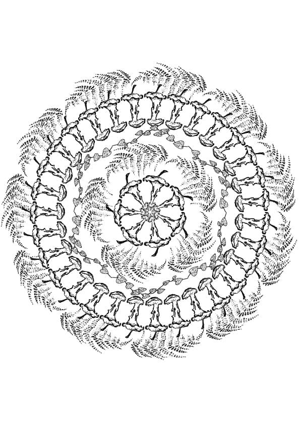 10 Halloween mandala Free colouring pages - Craft with ...