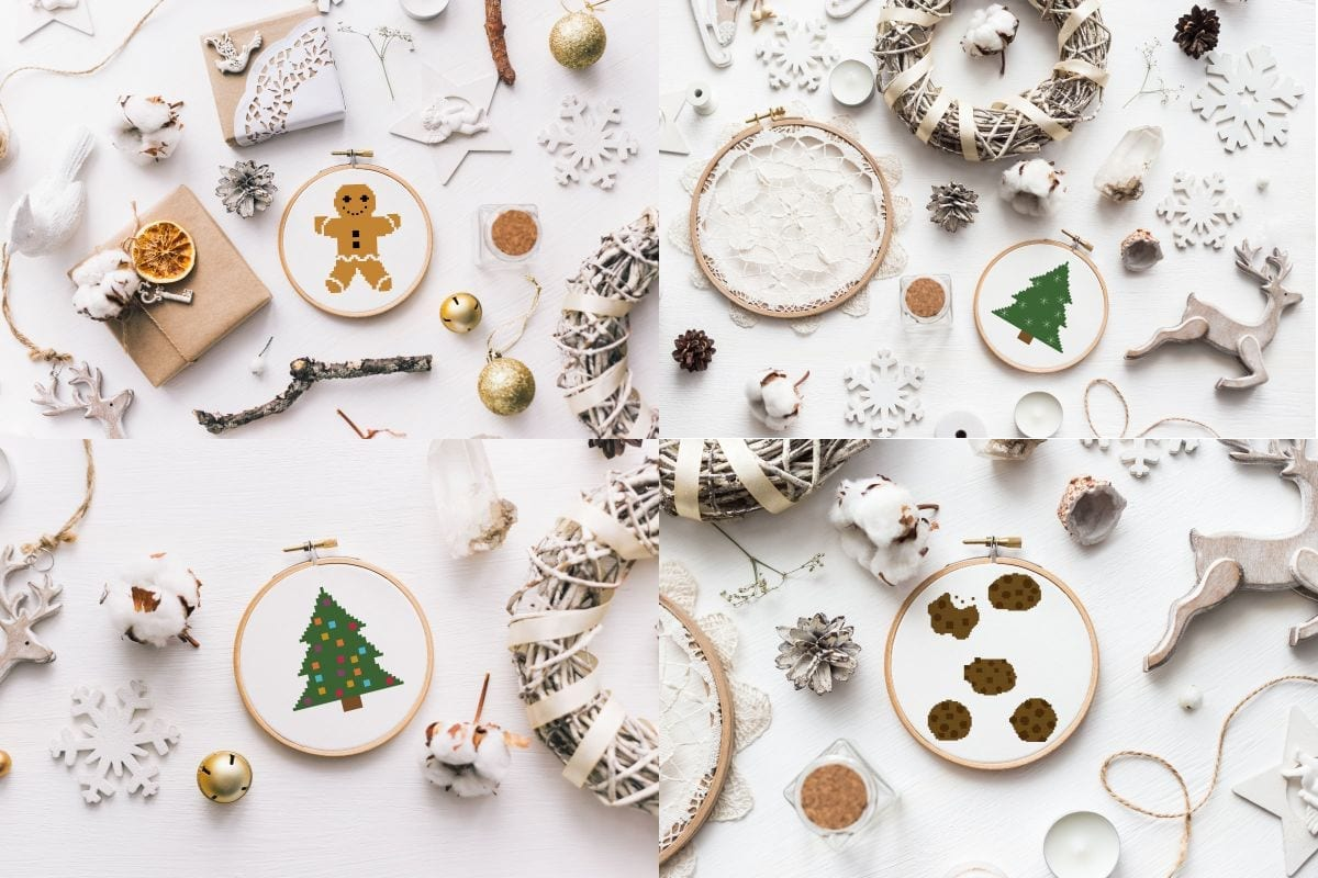 Free Christmas Cross Stitch Patterns Craft With Cartwright